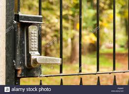 backyard gate key home outdoor decoration