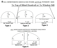 Wood Blinds For Arched Windows How To Measure Wood Arches Measuring Tips And How To Measure