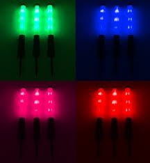 awesome led stake lights 360 degrees of light use as a led wand