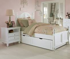 bedroom best white twin bed with trundle with grey ceramic floor