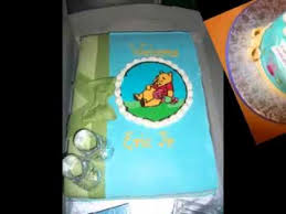 diy winnie the pooh baby shower cake decorating ideas youtube