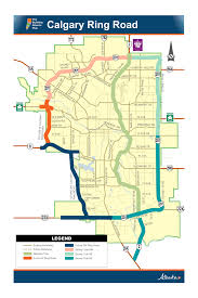 Southwest Route Map Government Of Alberta Ministry Of Transportation Calgary Ring Road
