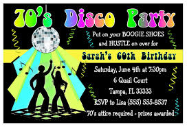7 marvellous disco party invitation wording neabux com