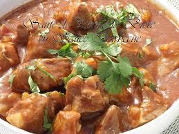 cuisiner le sauté de porc saute de porc a la biere en sauce barbecue recette ptitchef