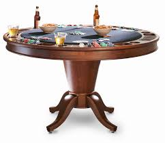 round poker table with dining top game tables robertson billiards