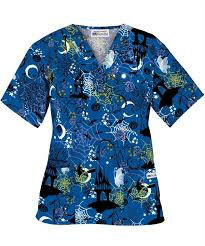 297 best holiday scrubs images on pinterest scrub tops