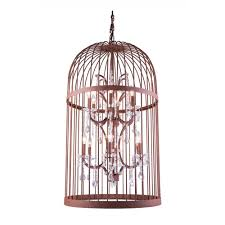 how to make a birdcage chandelier elegant lighting geneva 6 light rustic intent chandelier with