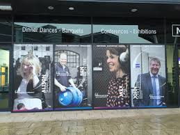 temporary window graphics window graphics large format print