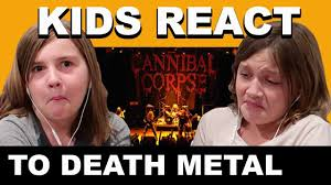 Death Metal Meme - kids react to death metal cannibal corpse devoured by vermin