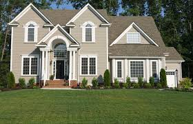 exterior paint color ideas with black trim