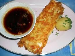 cuisiner dos de cabillaud recette de dos de cabillaud a la panure japonaise sauce pimentée
