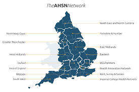 Sussex England Map by The Ahsn Network