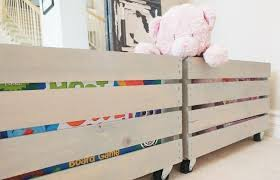 Make Your Own Toy Chest by Creative Diy Toy Storage Ideas By Just The Woods