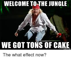 We Got This Meme - welcome to the jungle we got tons of cake cake meme on me me