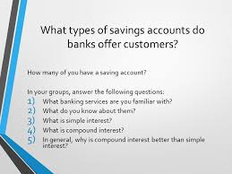 section 3 3 savings accounts ppt