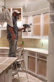Best Kitchen Cabinet Painters Paint Color For Kitchen Walls With - Painting old kitchen cabinets white