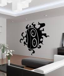 Speaker Design by Vinyl Wall Decal Sticker Speaker Flame Design Os Aa1712