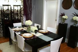 table decor ideas for dining room amazing dining room table