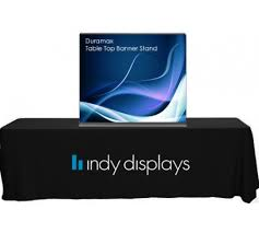 table top banners for trade shows duramax retractable banner stand table top display