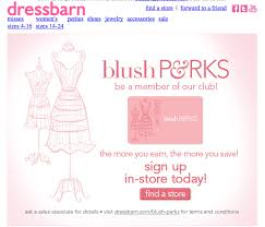 Dress Barn Credit Card Payment Address Dressbarn Blush Perks Rewards Program Earn Points Everytime You