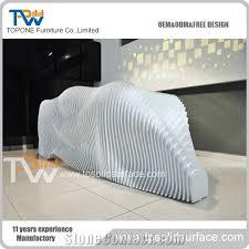 Corian Reception Desk Special Design Corian Acrylic Solid Surface Reception Desk With