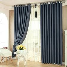 Blue And White Vertical Striped Curtains Navy Blue And White Curtains U2013 Teawing Co