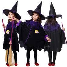 Halloween Witch Costumes Girls Popular Halloween Witch Costumes Kids Buy Cheap Halloween