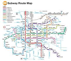 Subway Station Map by Osaka Cruise Port Guide Cruiseportwiki Com