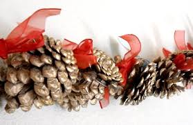 grow creative pine cone garland tutorial