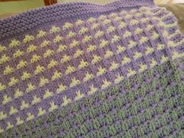 free afghan knitting pattern color field baby blanket feltmagnet