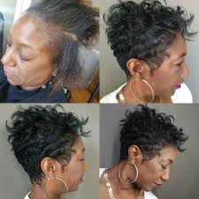 wave nuevo on short hair pictures wave nouveau before and after black hairstle picture