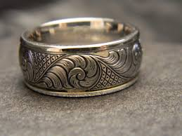 hand engraved rings images Pin by reads jewelers on custom engraved titanium rings jpg