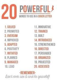 words to use in a cover letter letter idea 2018