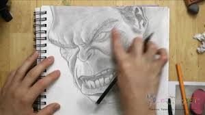 how to draw the hulk the avengers youtube