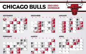 printable bulls schedule chicago bulls 2012 2013 schedule happy fan chat