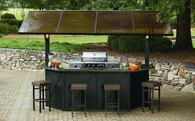 Small Patio Gazebo by Ty Pennington Style Sunset Beach Hardtop Grill Gazebo Bar With