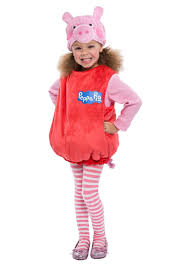 delux halloween costumes peppa pig toddler girls costume tv show costumes