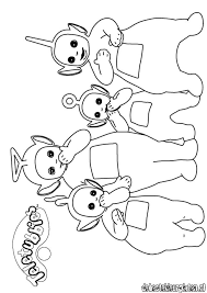 teletubbies coloring coloring