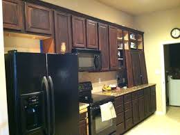 refinishing kitchen cabinets with gel stain general finishes java