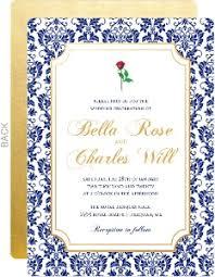 Royal Blue Wedding Invitations Elegant Wedding Invitations