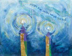 shabbat lights shabbat lights original paintings candles blessing by