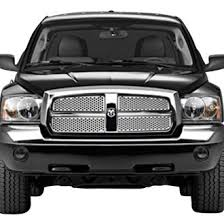 dodge dakota black grill dodge dakota custom grilles billet mesh cnc led chrome black