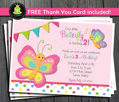 butterfly birthday invitation free thank you by foreveryourprints
