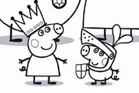 peppa pig colouring activity colouring pages peppa 7658