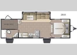 Breeze House Floor Plan New Pacific Coachworks Sea Breeze 2810 Travel Trailer For Sale