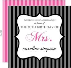 30th birthday party invitations marialonghi com