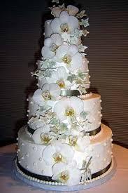wedding cake decoration orchid wedding cake designs