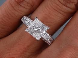 engagement rings sale 2 16 ctw princess cut diamond engagement ring g si2 for sale for