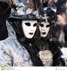 black u0026 white masks on carnival venice italy stock photos