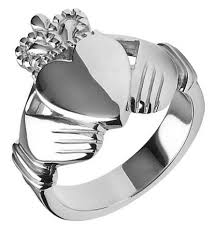 mens claddagh ring largest heaviest mens claddagh ring